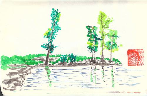 Birch Lake, Camp Mathers